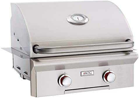 AOG American Outdoor Grill 24PBT-00SP T-Series 24 inch Built-in Propane Gas Grill