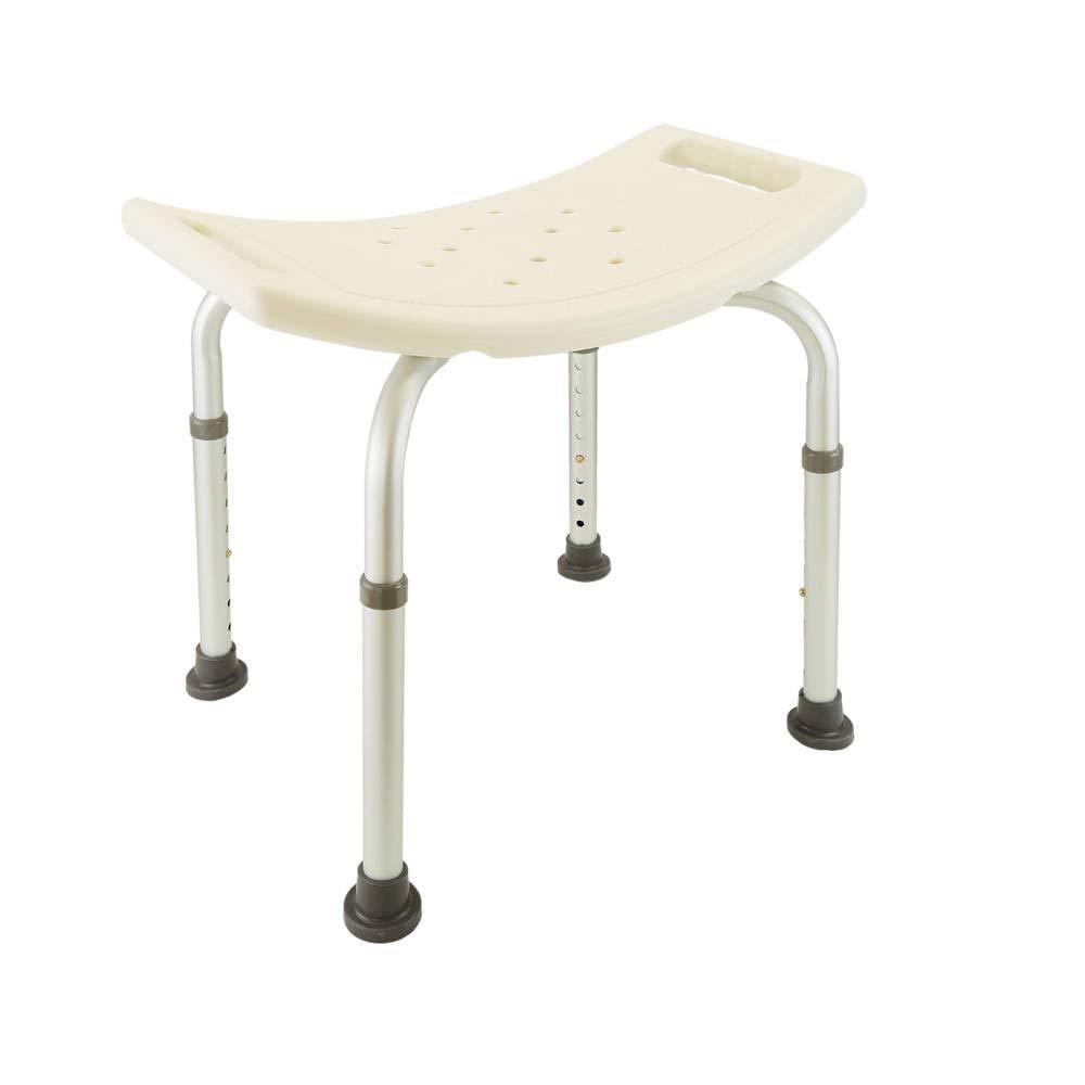 Cablematic – Sgabello da doccia ergonomico regolabile in altezza Cablematic.com PN19021618200128001