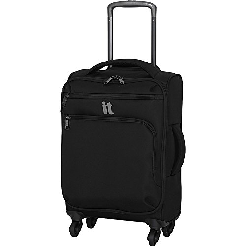 it luggage Megalite 21.9″ Spinner with Expander, Black