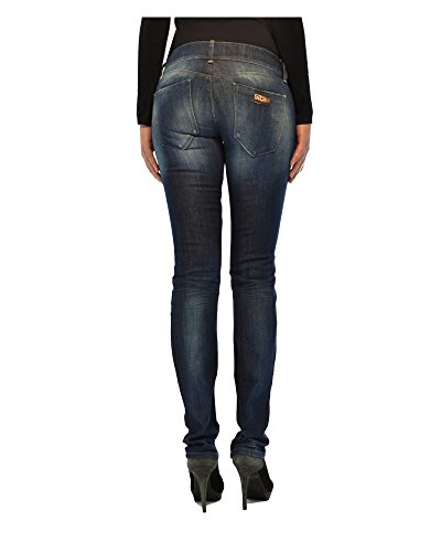 Italy Vita Effetto Jeans Vintage Bassa Met Made Donna In A gqzxSSaw