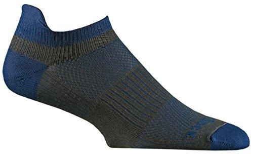 Wrightsock Unisex Coolmesh II Tab Ash/Royal Sock