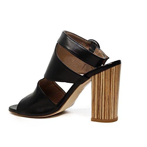 Carmens sandalo con tacco alto 39022 Nero Giove nuova collezione primavera estate 2017