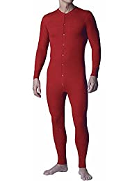 Stanfields Red Union Suit/Combination - M to XL