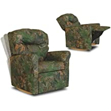 Contemporary Camouflage Child Rocker Recliner Chair