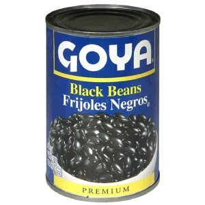 Goya Black Beans 48x 15.5OZ by GOYA