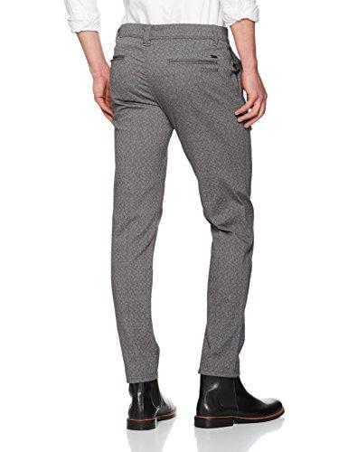 BOSS Orange 50369274, Pantalones Para Hombre Gris (Black 001)