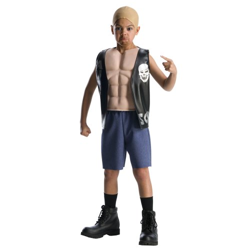 World Wrestling Entertainment Deluxe Child's Muscle Chest Costume, Stone Cold Costume - Stone Cold Steve Austin Costume
