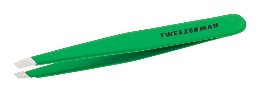 Tweezerman  Slant Tweezer, Green Apple