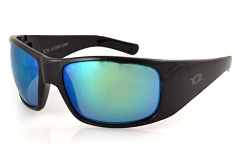 Clear Lake Montana Polarized Polycarbonate Dual Curvature Lenses(Green)