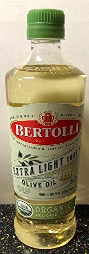 Bertolli extra Light Tasting Olive Oil Organic (1-16.9 FL OZ BOTTLE)