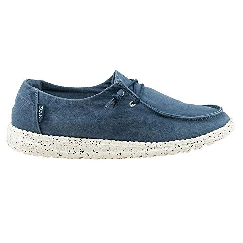 Hey Dude Women's Wendy Loafer Shoes-Steel ()