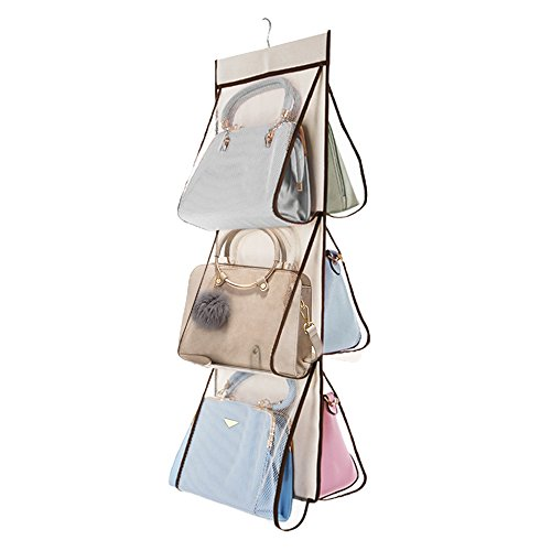 Hanging Handbag Organizer Bag Storage Holder for Closet, Bedroom and Living Room from SEA or STAR