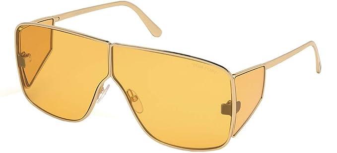 Amazon.com: Gafas de sol Tom Ford FT 0708 Spector 33E dorado ...