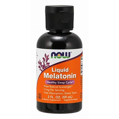 Now Foods Liquid Melatonin 3 mg - 2 oz (2 Pack)