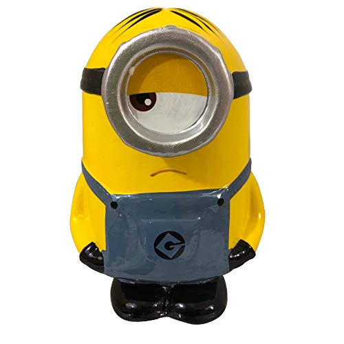 M.Z. Berger & Company Despicable Me Ceramic Coin Bank - Stuart