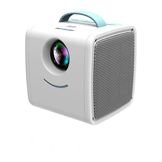 Mini Projector Portable LED LCD Projector, Full HD 1080P Supported, Compatible with PC Mac TV DVD iPhone iPad USB SD AV