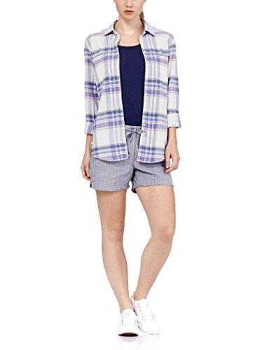 (Icebreaker Merino Women's Kala Long Sleeve Woven Shirt, Abyss/Gumtree/Tulip,)