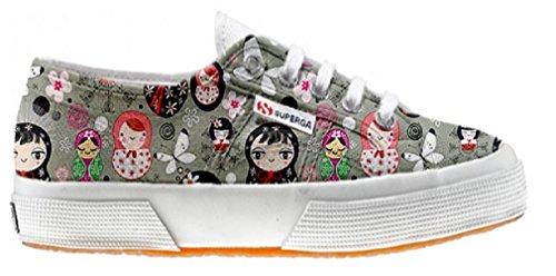 Superga Customized Chaussures Coutume Matrilu (produit artisanal)