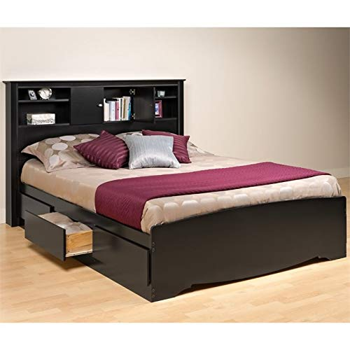 Prepac Sonoma Queen Platform Storage Bed in ()