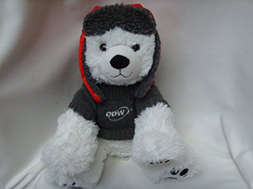 white-polar-bear-15-plush-toy-collectible-with-winter-red-hat-cdw-doll-clothing