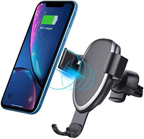 Xflelectronic Cargador inalámbrico 2 en 1 para automóvil, Soporte para teléfono Celular con ventilación de Aire Cargador rápido para automóvil, para iPhone/Samsung/y Otros teléfonos Inteligentes: Amazon.es: Hogar