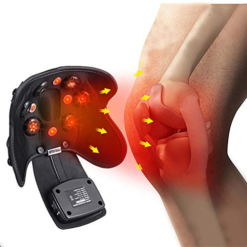 TIANMIAOTIAN Heated Knee Electric Sports Kneepad Kneecap Men Knee Brace Knee Pads Massage for Football Volleyball Sports Knee Pads Protector Kneepads