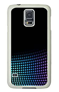 Dots Custom Samsung Galaxy S5/Samsung S5 Case Cover Polycarbonate White