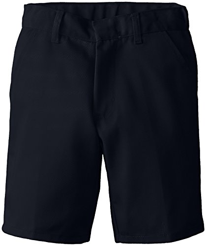 (6114) Genuine School Uniforms Boys Pleated Front Short (Sizes 4-16) in Navy Size: - Uniform School Shorts Pleated Boys
