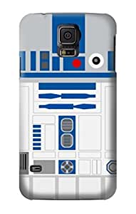 S1853 R2D2 Minimalist Case Cover For Samsung Galaxy S5