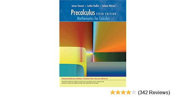 Precalculus mathematics for calculus enhanced review edition precalculus mathematics for calculus enhanced review edition james stewart lothar redlin saleem watson 9780495392774 amazon books fandeluxe Image collections