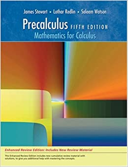 Precalculus: Mathematics for Calculus, Enhanced Review Edition ...