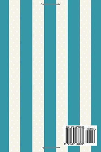 Weekly Planner: Blue Stripe Motivational Cover: The Best Weekly Diary, Assignment Planner, Get things done, Day Planner, Goals journal, Reflection … quotes, 52 weeks, 6x9in (Volume 10)