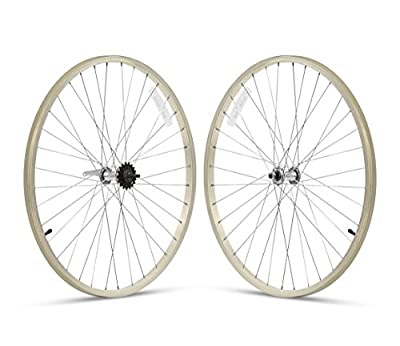 Firmstrong Speed Beach Cruiser Bicycle Wheelset, Front/Rear,