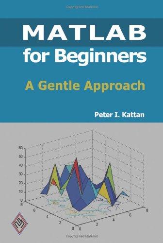 MATLAB for Beginners ISBN-13 9781438203096
