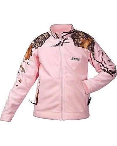 Rocky Girl's Youth Mossy Oak Fleece Jacket, Camouflage, X...