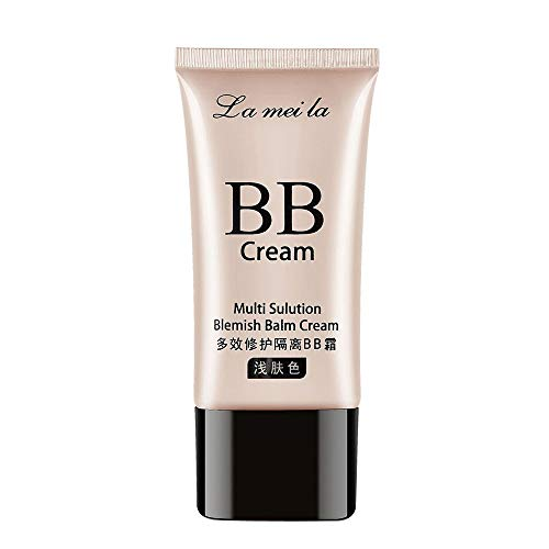 (Averyzoe Natural bb Cream LAMEILA Daily moisturizer Foundation Primer Cosmetics Products Foundation for All Skin Nature Mineral Matte Creams)