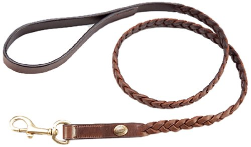 Schockemohle Rusty Dog Collar, XX-Large, Tobacco/Gold