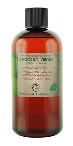 Bio Avocadoöl - 100% reines kaltgepresstes Basisöl - Organisch zertifiziert - 250ml