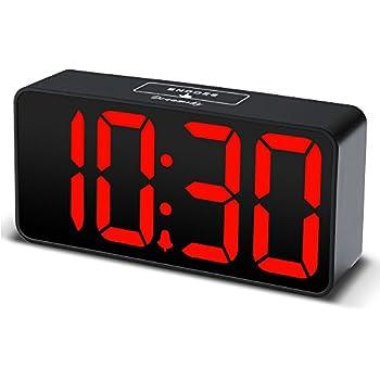 Amazon Com Sharp Blue Jumbo 2 Led Display Alarm Clock