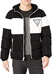 Guess Men's Color Block Puffer Triangle P
