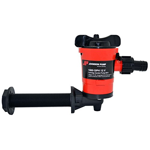 Johnson Pumps 38103 1000 GPH Cartridge 90-Degree Aerator Pump - 500 Gph Pump Aerator