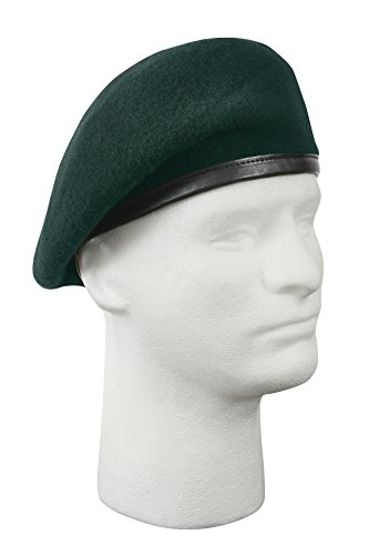 Rothco G.I. Type Inspection Ready Beret, Green, Size 6 1/2