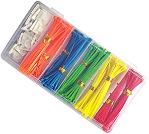 Puncia 4 in Mini Nylon Zip Tie Zip Set For Home Tools Garden...