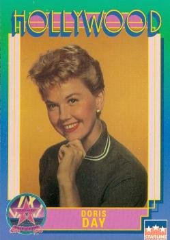 Singer Signed Autograph Card (Doris Day trading Card (Actress, Singer) 1991 Starline Hollywood Walk of Fame #46)