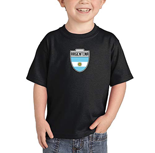 Argentina - Country Soccer Crest Infant/Toddler Cotton Jersey T-Shirt