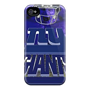 Quality MiniBeauty Case Cover With New York Giants Nice Appearance Compatible With Iphone 4/4s