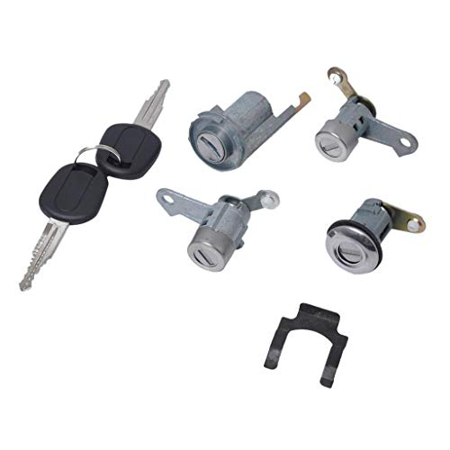 B Blesiya Car Door Lock Cylinder Barrel Repair Kit Set Buick Excelle 2007-2012