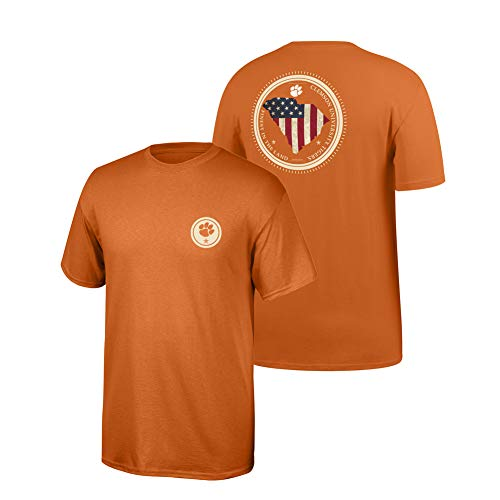 (Clemson Tigers Tshirt State Patriot - XL - Orange)