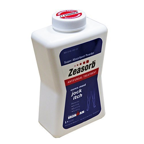 5 Pack Zeasorb Super Absorbent Antifungal Treatment Powder Jock Itch 2.5 oz by Zeasorb