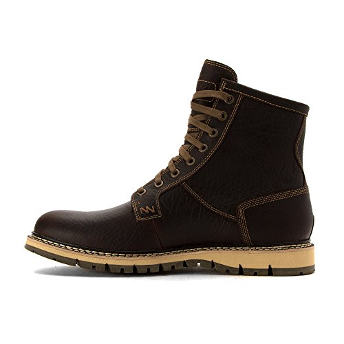 Timberland Hombres de Britton Hill Plain Toe Boot Brn